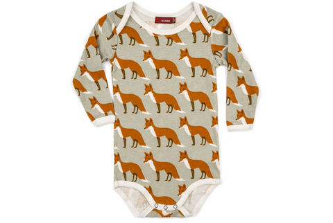 Organic Long-Sleeved Onesie - Milkbarn