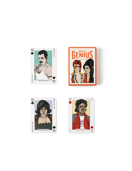 Music Genius Playing Cards