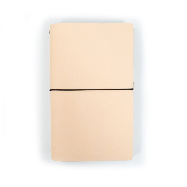 Dot-Grid Leather Notebook