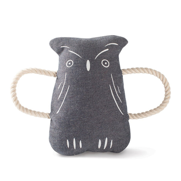 Squirrel + Owl Dog Tug Toys