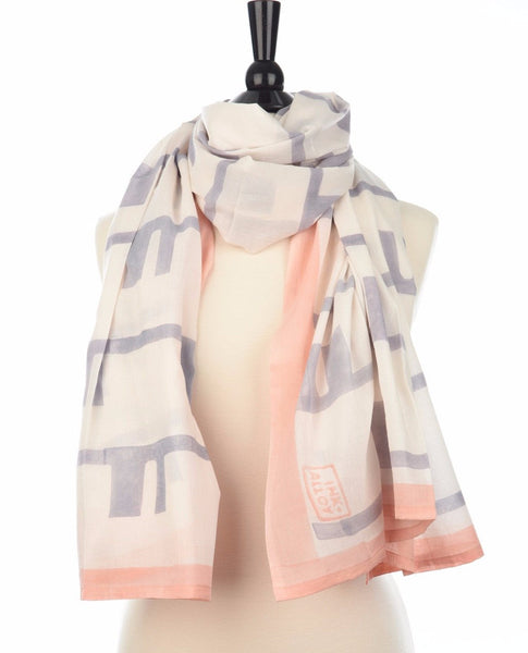 Cotton Block Printed Scarf