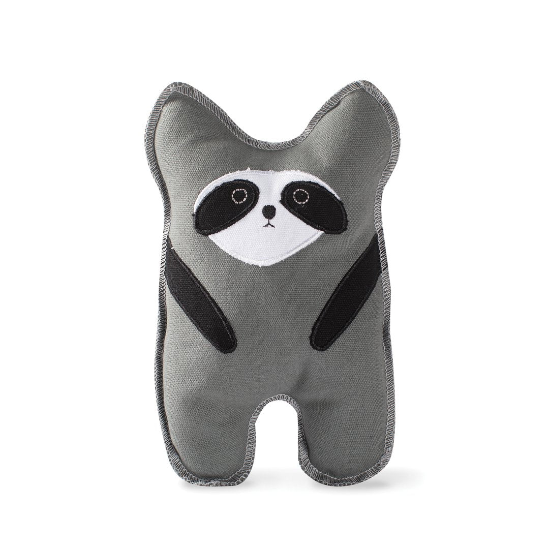 Bear + Raccoon Dog Toys - Raw Edge Canvas
