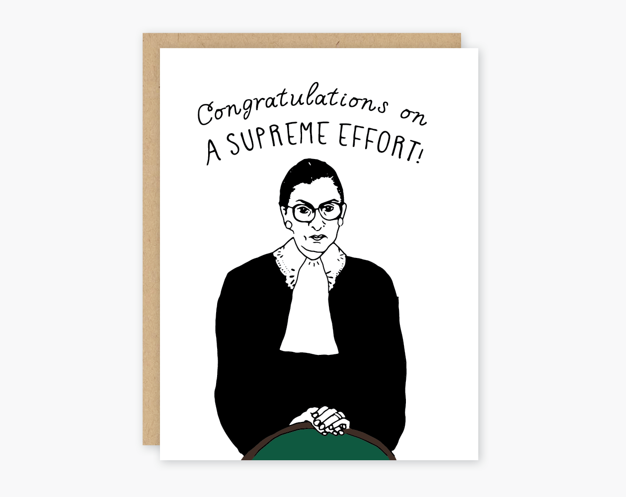 Congratulations RBG Card