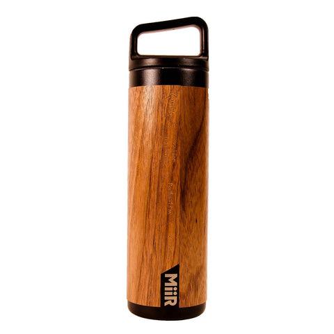 Wood Wrapped 20 oz Bottle - Rustek Collective