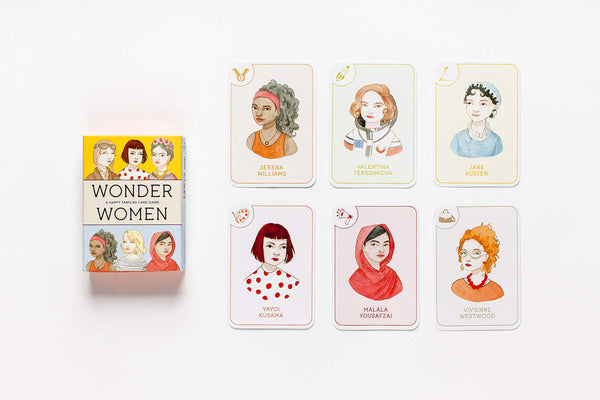 Wonder Women: A Go Fish Game