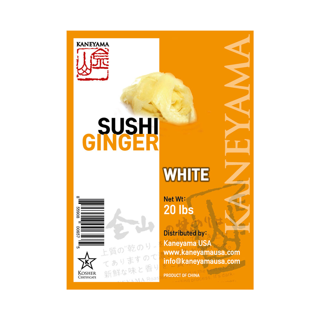 KANEYAMA Sushi Ginger White