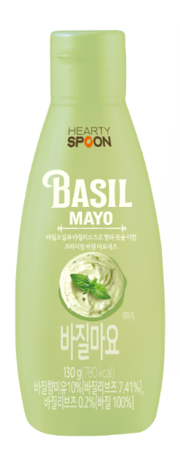 HEARTY SPOON Basil Mayo (130g)