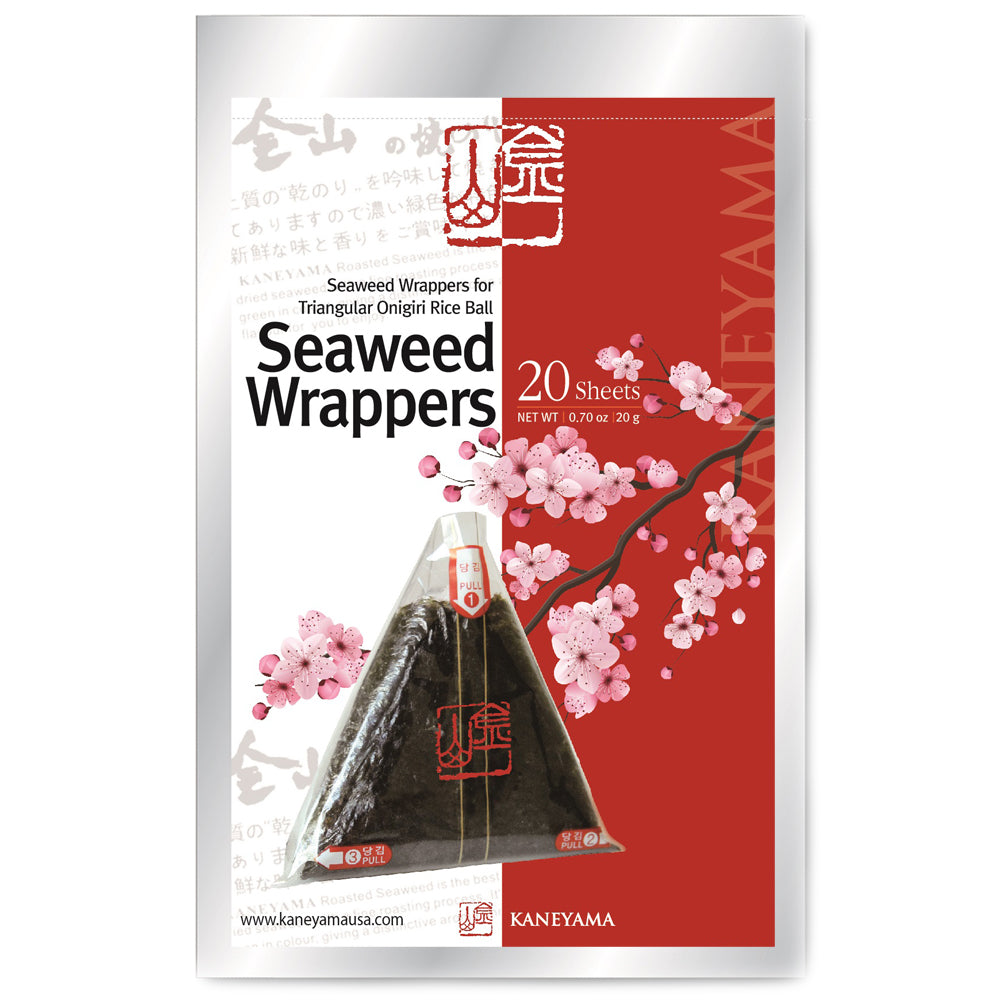 KANEYAMA Seaweed Wrappers 20 Sheets Refill