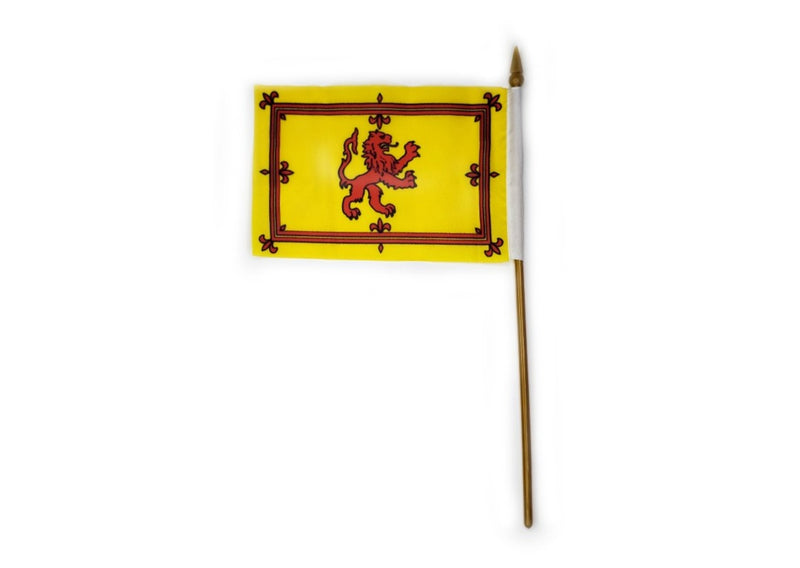 Rampant Lion Royal Flag of Scotland- Small