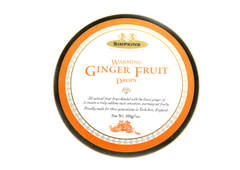 Simpkins Warming Ginger Fruit Drops - 200g