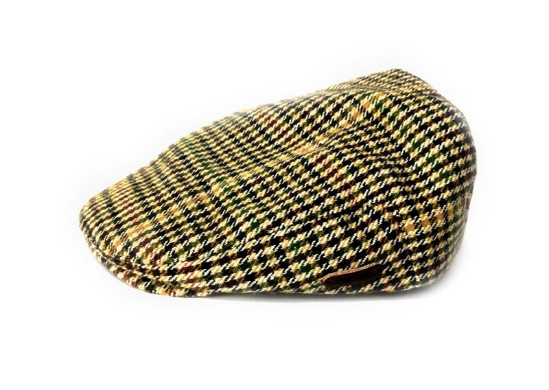Heritage Traditions Mens Flat Cap Houndtooth