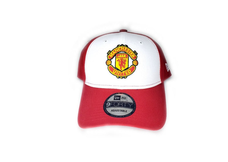 Manchester United Red and White Cap