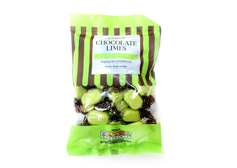 Tesco Chocolate Limes - 200g