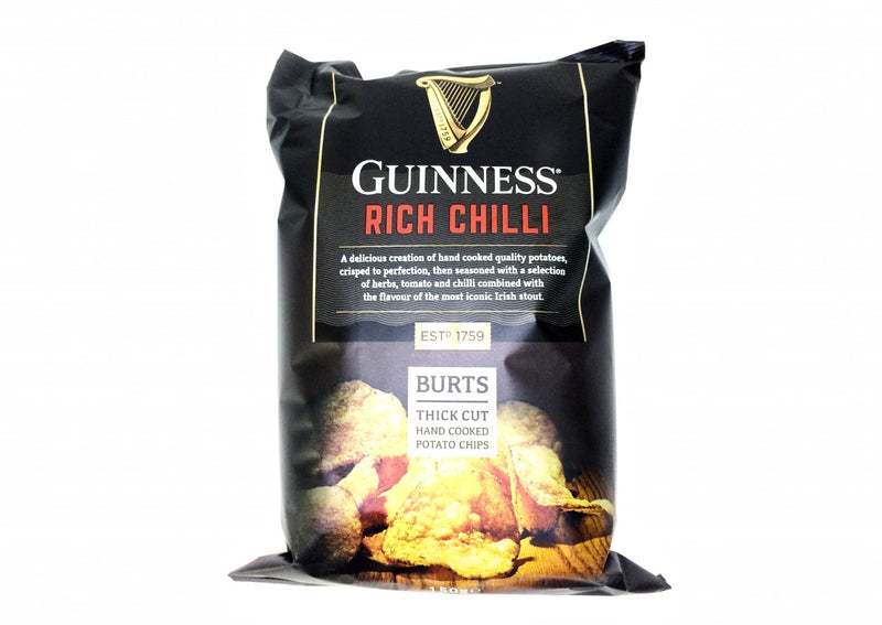 Guinness Rich Chilli Burts Chips - 150g