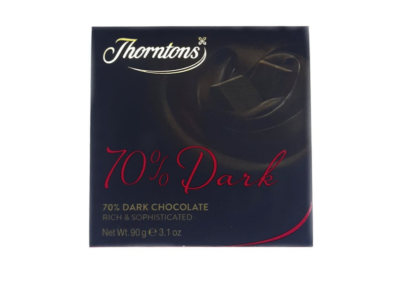 Thortons 70% Dark Chocolate - 90g
