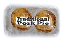 2 pack of traditional pork pie