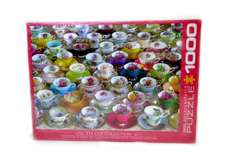 Eurographics 1000 piece Puzzle - Tea Cup Collection