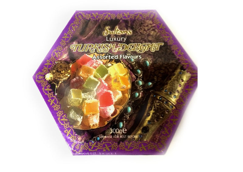 Sultans Luxury Turkish Delight Assorted Flavours - 300g
