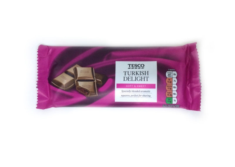 Tesco Turkish Delight - 150g