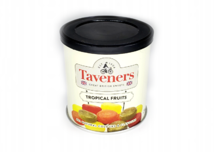 Taveners Tropical Fruits - 200g