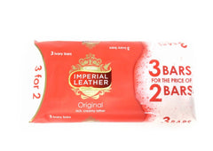 Imperial Leather Original Bath Soap - 3 bars