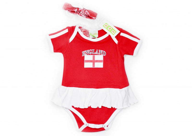 England Skirted Onesie with Headband - various sizes