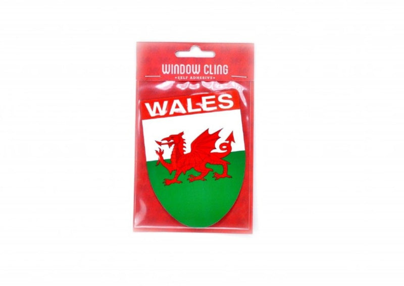 Self Adhesive Window Cling - Wales