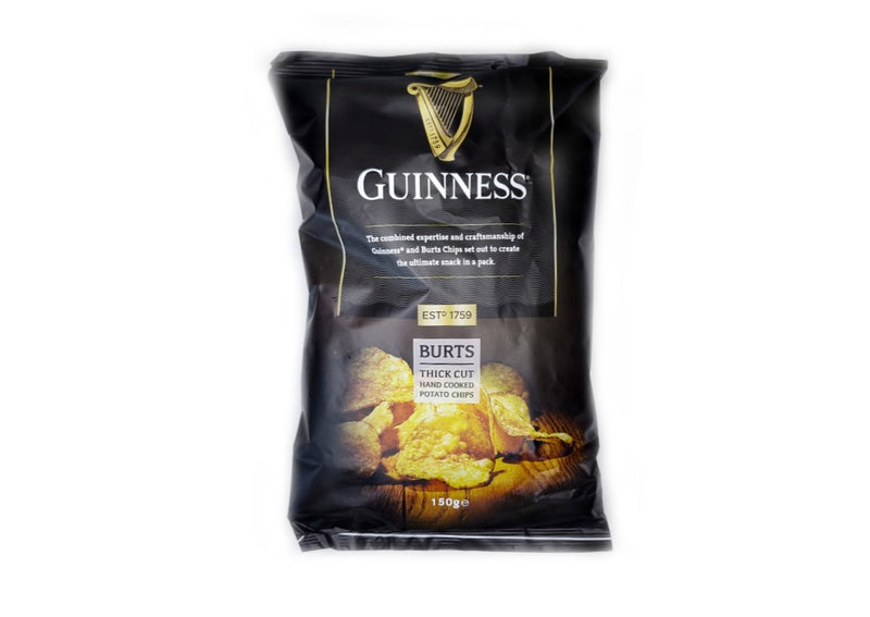 Guinness Thick Cut Crisps - 150g
