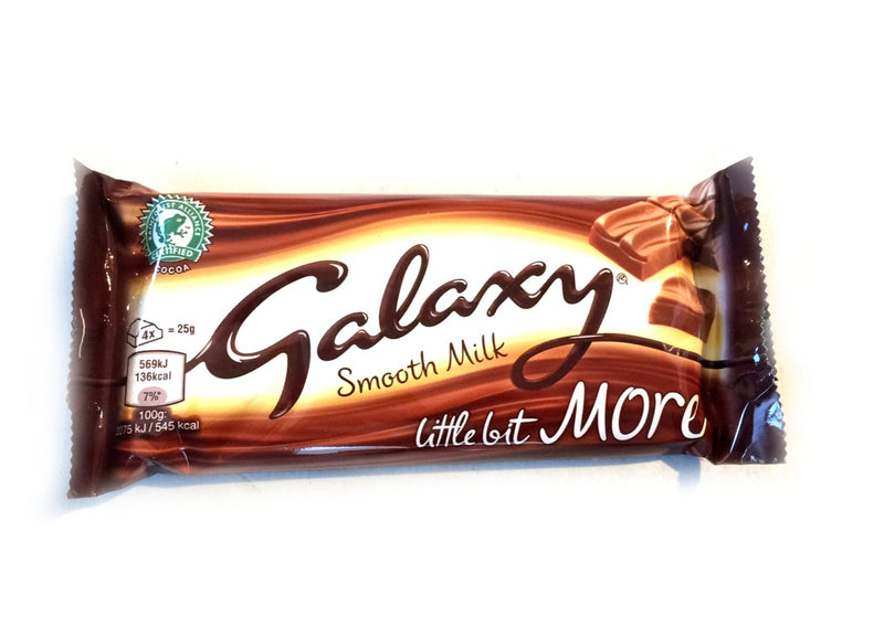 galaxy smooth milk little bit more bar