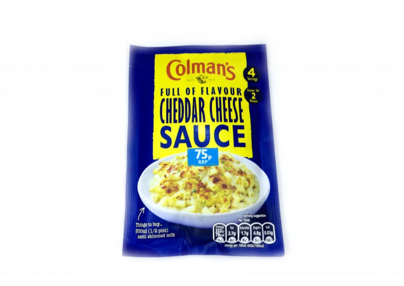 Colman's Cheddar Cheese Sauce - 40g