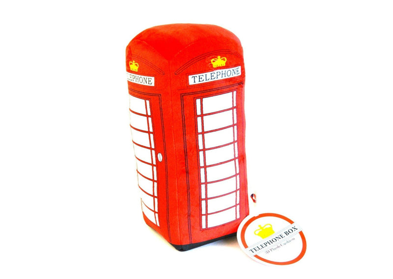 Telephone Box Pillow