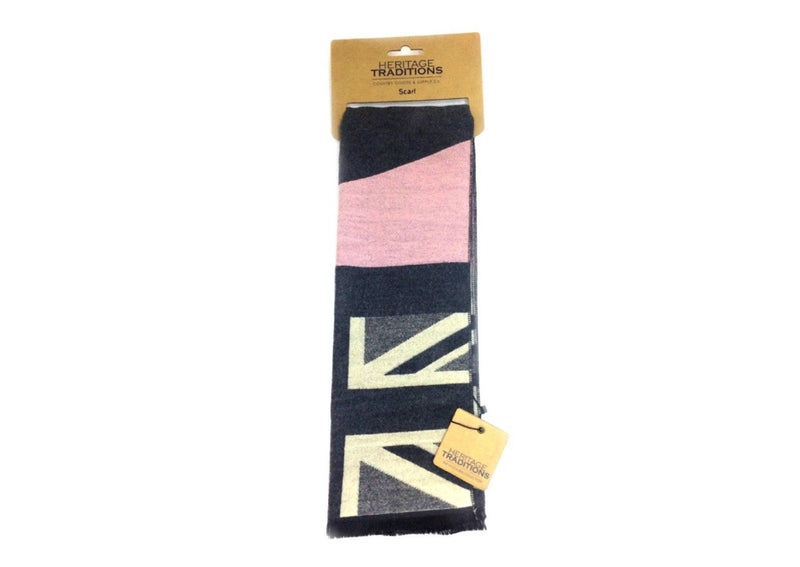 Heritage Traditions Union Jack Scarf