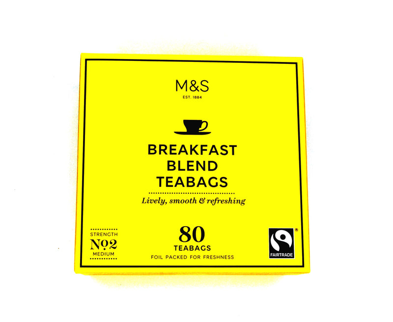 Marks and Spencer Breakfast Blend Teabags - 80