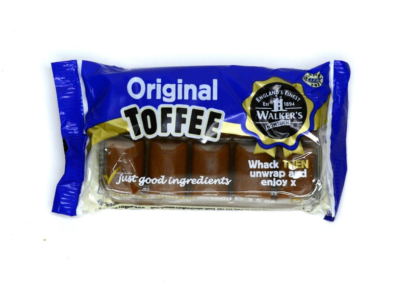 Walkers Original Toffee - 100g