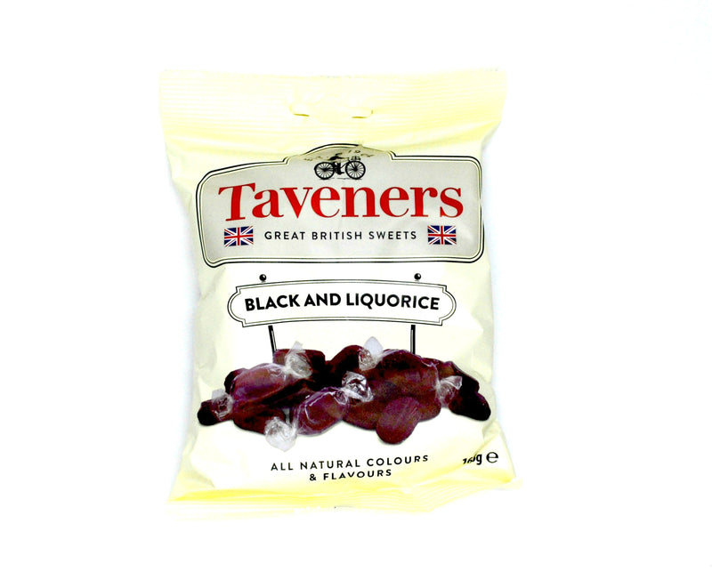 Taveners Black and Liquorice - 165g