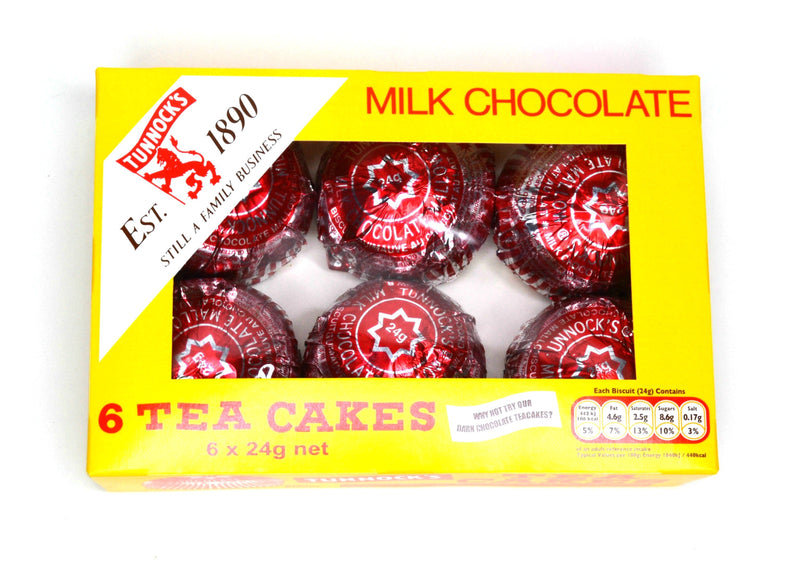 Tunnock's Milk Chocolate Tea Cakes - 6 pack