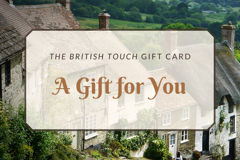 The British Touch Gift Card