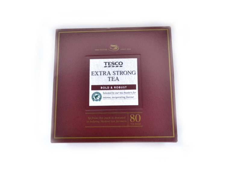 Tesco Extra Strong Tea - 80bags