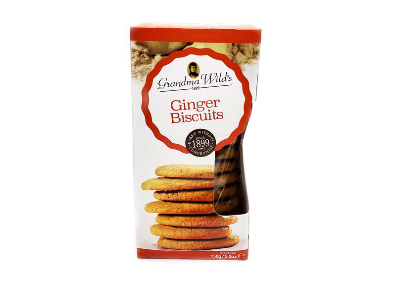 Grandma Wild's Ginger Biscuits -150g