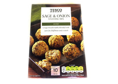 Tesco Sage & Onion Stuffing - 170g