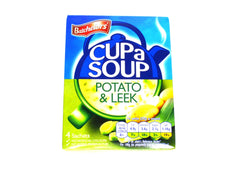 Batchelors Cup a Soup Potato & Leek - 4 Sachets