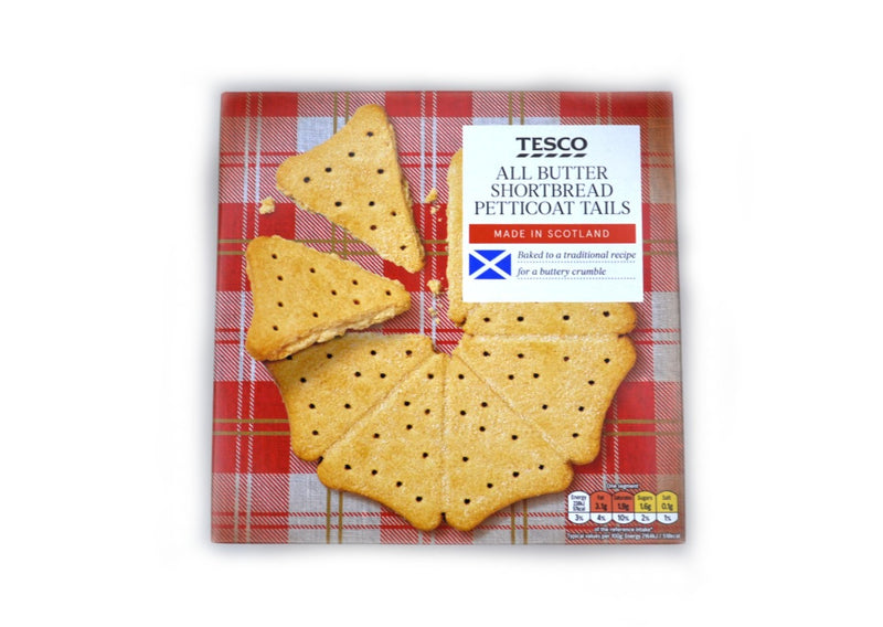 Tesco All Butter Shortbread Petticoat Tails - 450g
