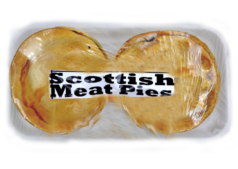 Scottish Meat Pie - 2 Pack