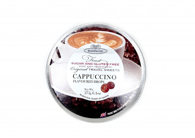 Simpkins Sugar and Gluten Free Cappuccino Flavoured Drops - 175g