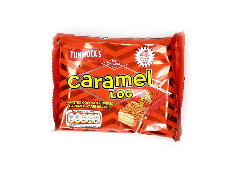 tunnocks caramel log 4 pack