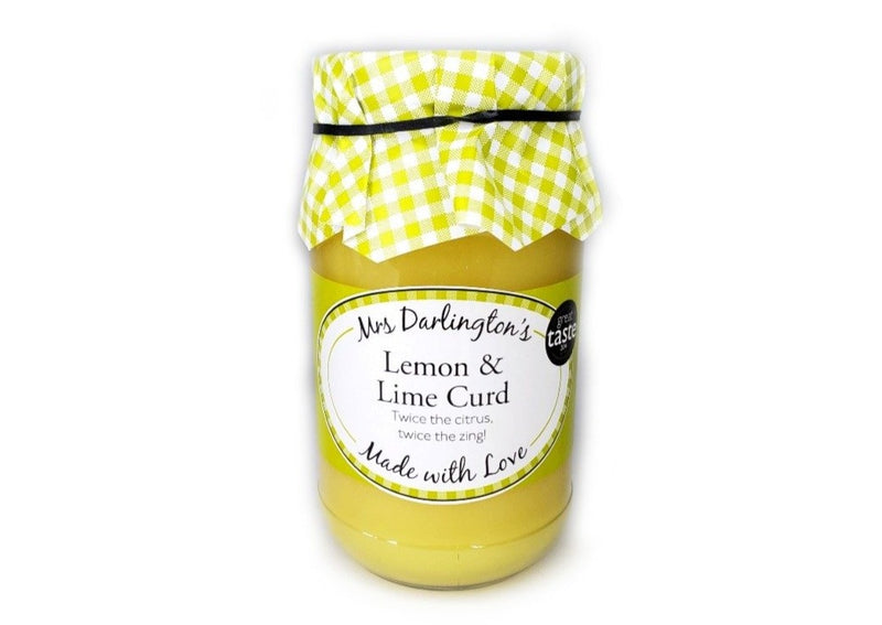 Mrs. Darlington's Lemon & Lime Curd - 320g