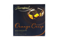 Thorntons Orange Crisp Milk Chocolate - 90g