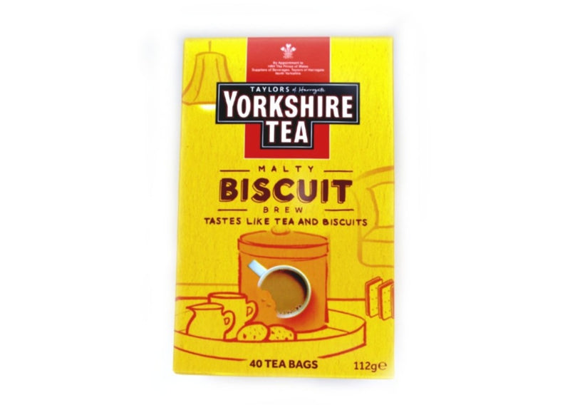 Yorkshire Tea Malty Biscuit Brew - 40bags