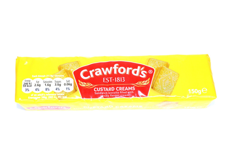 Crawfords Custard Creams -150g