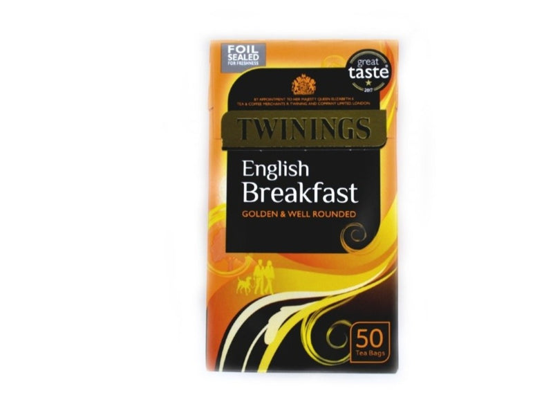 Twinings English Breakfast - 50bags